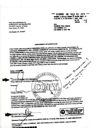 write notarized a to document how