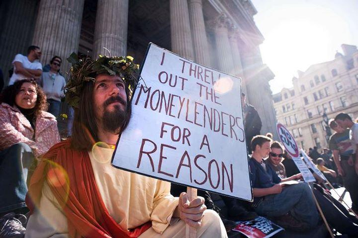 Jesus Money Lenders