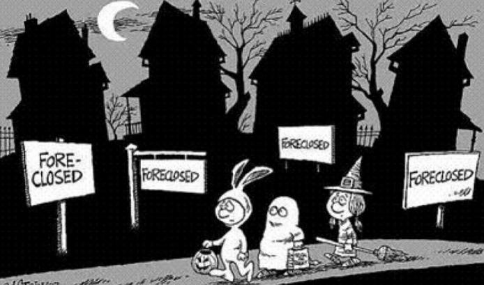 halloween foreclosed