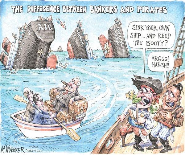 bankers vs pirates