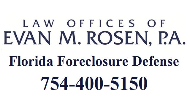 Evan M. Rosen Foreclosure Defense